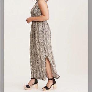 Torrid• Abstract Printed Challis Maxi Dress